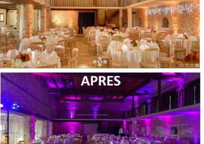 Décoration salle mariage par DJ